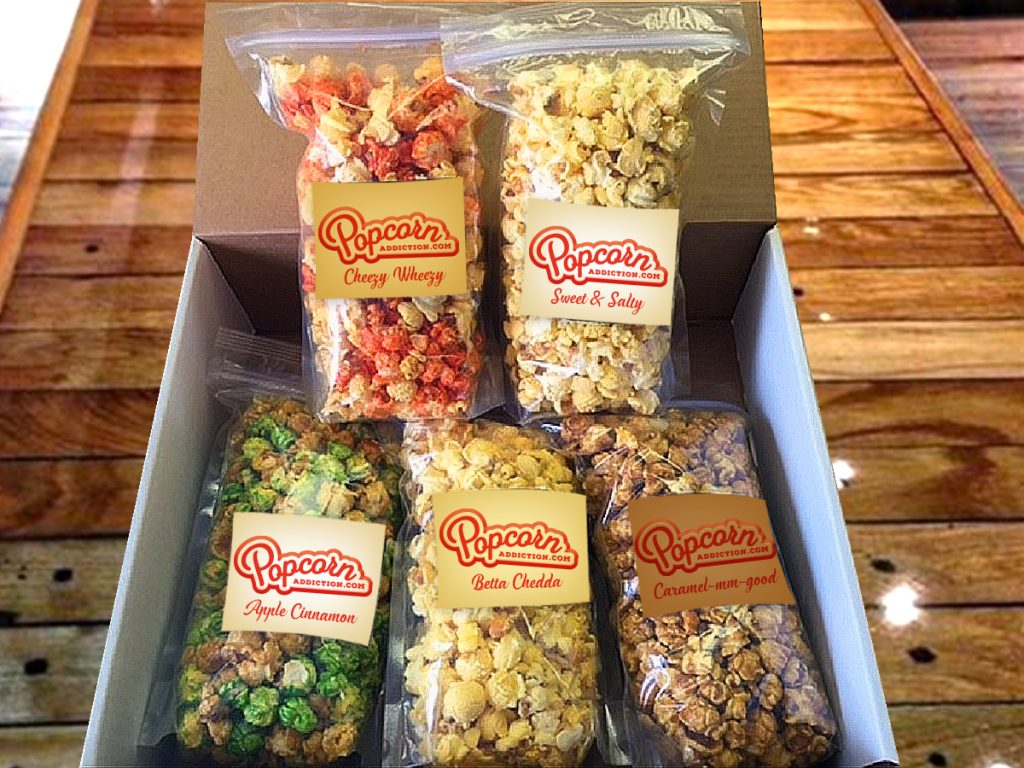 Popcorn monthly subscription delivery from Hill Country Kettle Corn